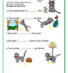 German worksheets for Kids - Printouts - BeeGerman [ 3508 x 2479 Pixel ]