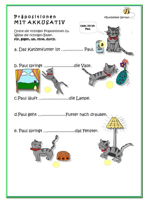 small resolution of German worksheets for Kids - Printouts - BeeGerman