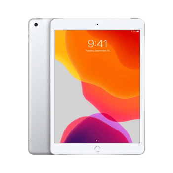 "Apple iPad 10.2"" 128GB <br>Wi-Fi + Cellular (silver) – NEW"