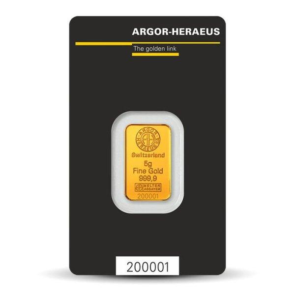 Kinebar 5g gold bar