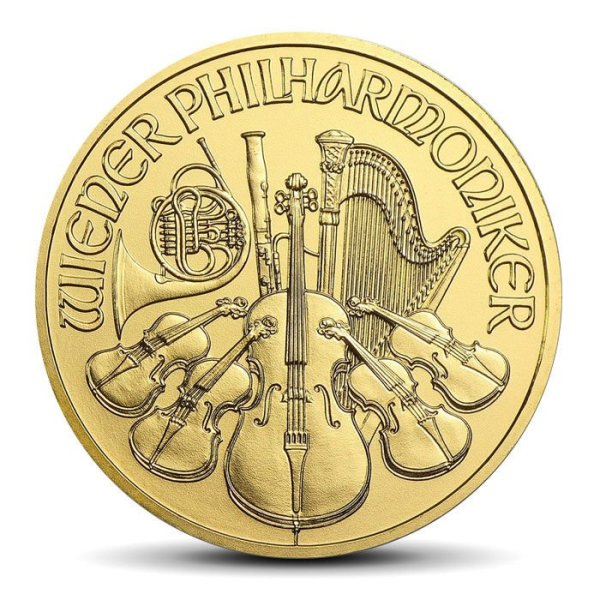 vienna philharmonics 100Eur 1OZ gold coin
