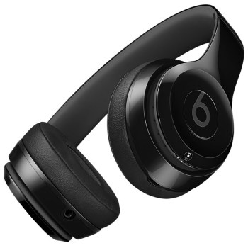 Beats Solo3 Wireless headphones (shiny black)