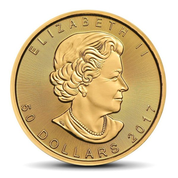 Canadian Maple Leaf 1 OZ gold 50 CAD coin