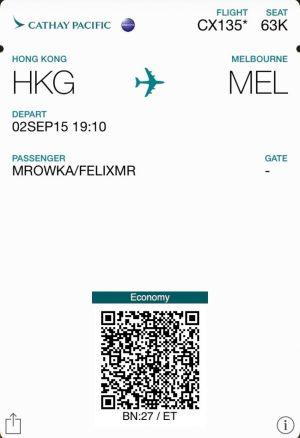 Flugticket_HKG-Mel_Felix_Mrowka