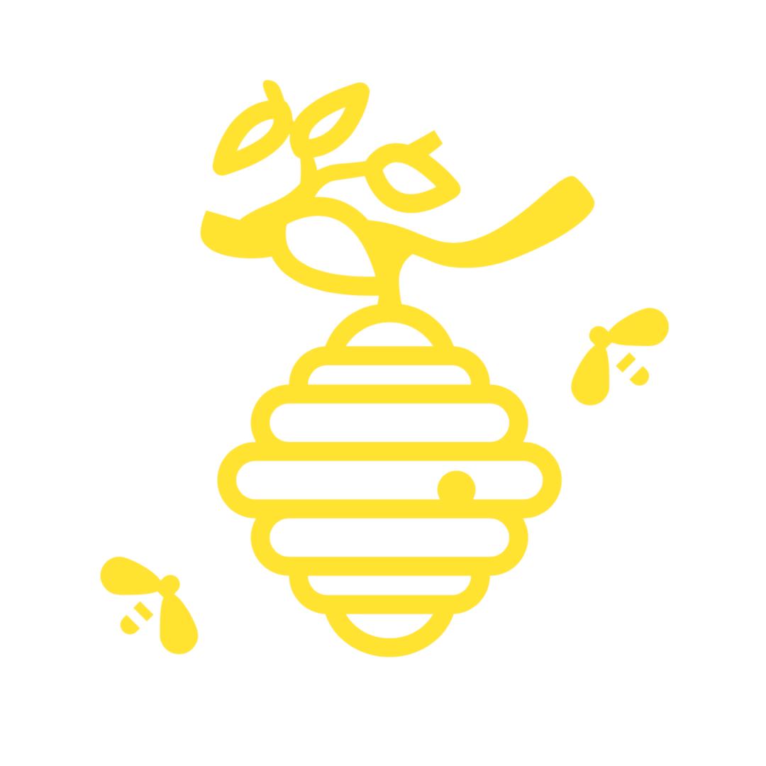 Eigene Bienen Logo
