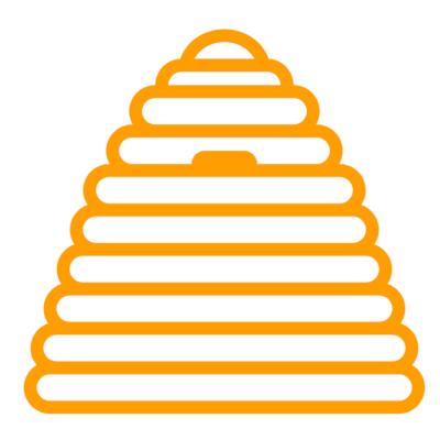 Icon-Bienenkorb