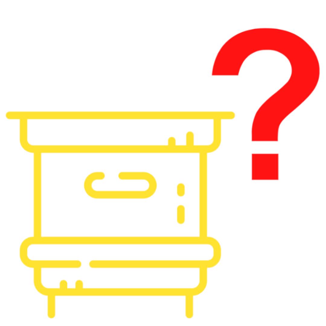 Icon-Bienenstock-Fragezeichen