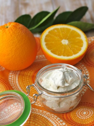 orange citrus body butter
