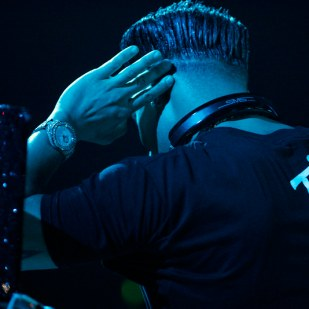 Reality TV star DJ Pauly D is a cast member of the show The Jersey Shore