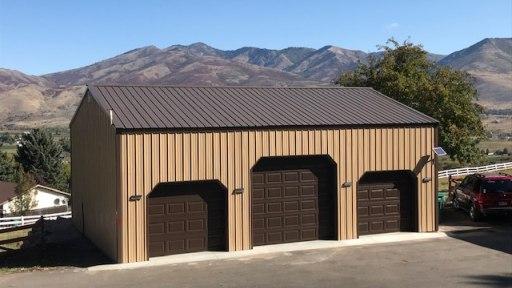 Pole Barn Garage - Beehive Builders - Bob's Garage