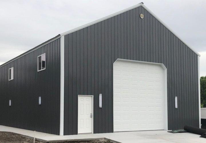 Pole Barn Storage Building - Beehive Buildings - 35'x60'x17'