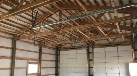 Pole Barn Workshop - Beehive Buildings - 30'x40'x14'