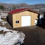 Pole Barn Workshop - Beehive Buildings - 30'x36'x14'