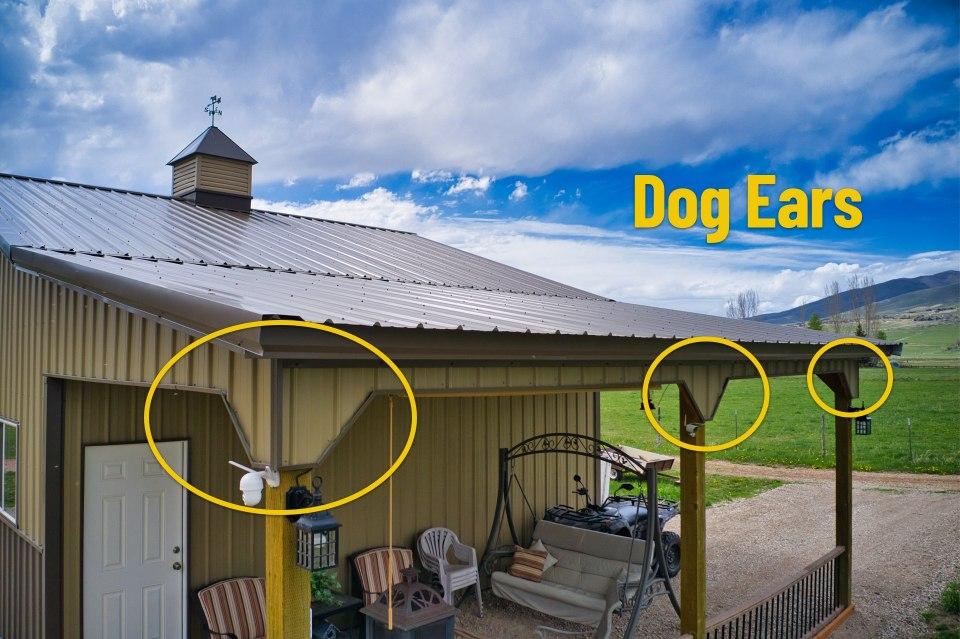 Dog Ears - Pole Barn by Beehive Buildings