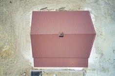 Roof, Gary's Pole Barn Garage - Beehive Buildings - 40x50x16