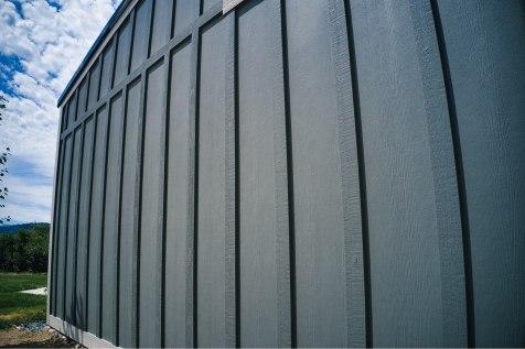 John's Pole Barn Garage - Beehive Buildings - 20x30x12