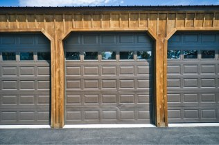 JW's Pole Barn Garage - Beehive Buildings - 25x50x12