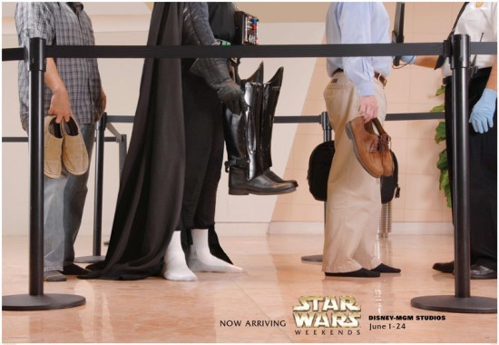 Week-end Starwars at Disney's Hollywood Studios