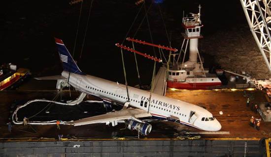 Le miraculeux atterrissage de l'Airbus A320 dans l'Hudson à New York