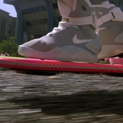 Le vrai hoverboard de Retour vers le futur