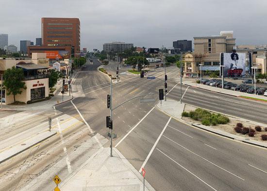 Empty Los Angeles