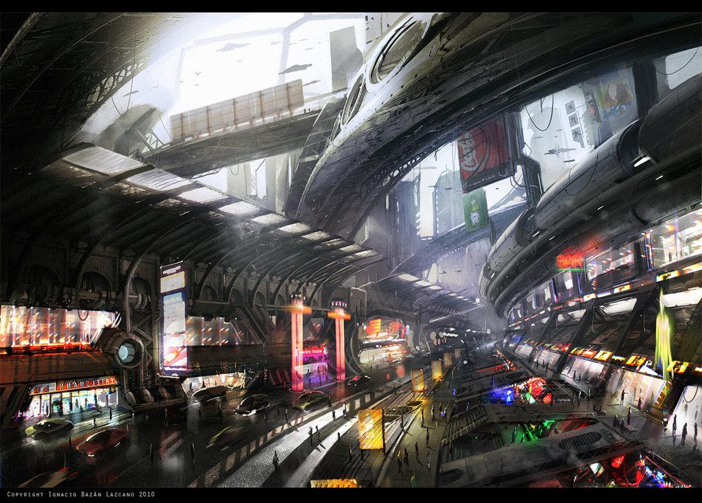 Ville futuriste