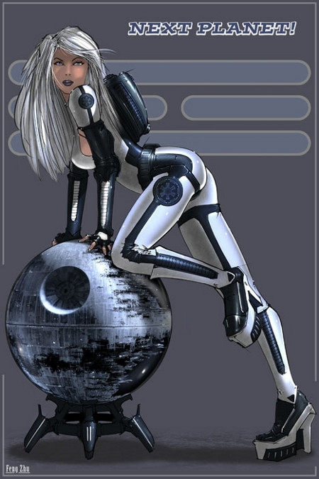 Star Wars Pin Up