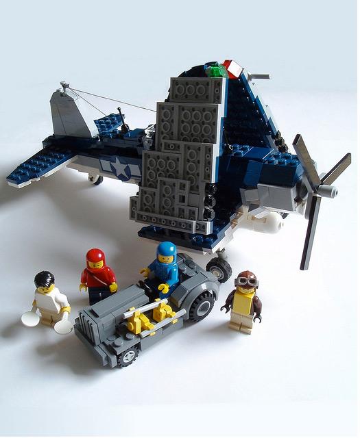 USS Intrepid LEGO