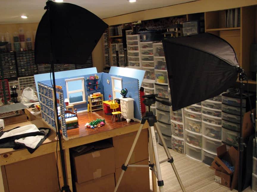 La Chambre d'Andy en LEGO