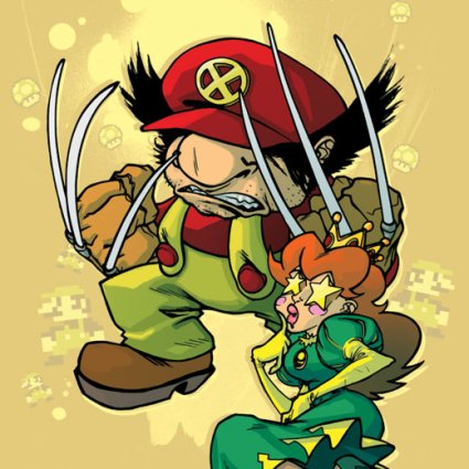 Mash-up X-men & Mario