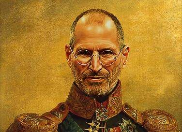 Portraits de célébrités en généraux russes