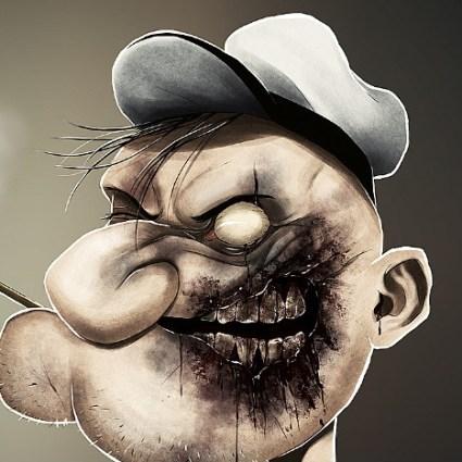 Portraits de zombies d'André de Freitas