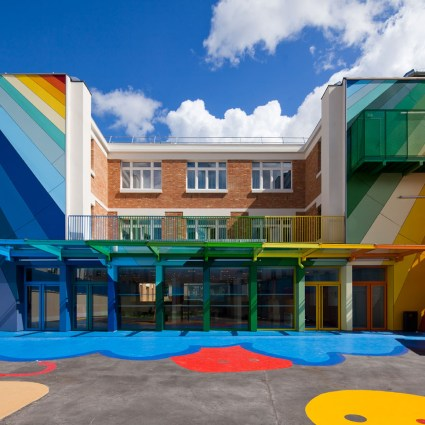 Ecole Maternelle Pajol à Paris