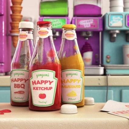 Happy Food by Yum Yum