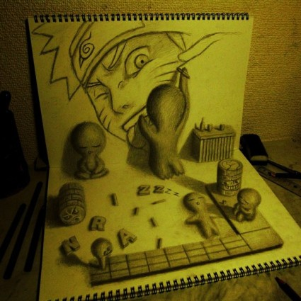 3D Sketchbooks de Nagai Hideyuki