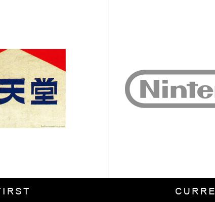 L'évolution des logos de grandes marques