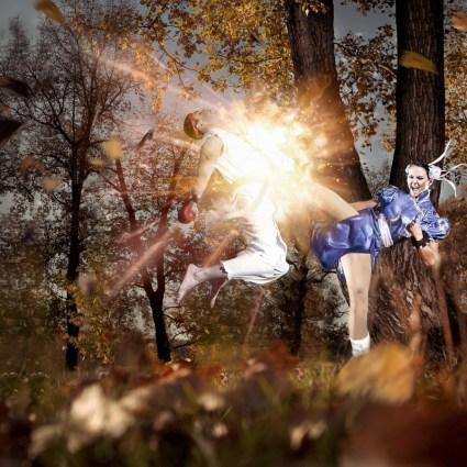 Personnages Street Fighter par Alexander Nerozya