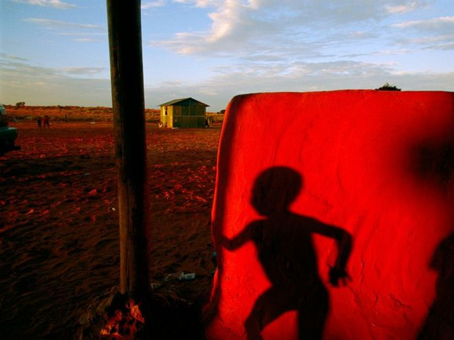 Child's Shadow by Chris Johns