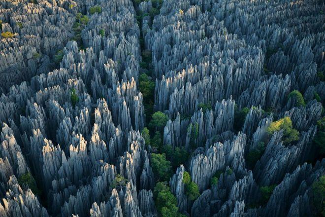 Limestone Towers, Madagascar by Stephen Alvarez