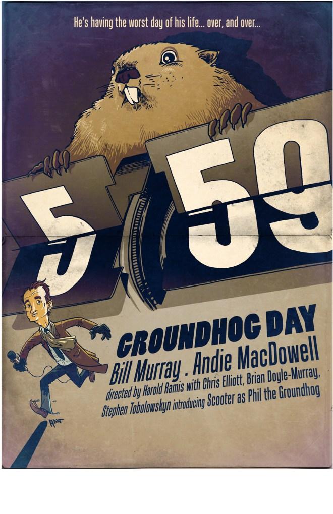 Groundhog Day  - Adrien Noterdaem