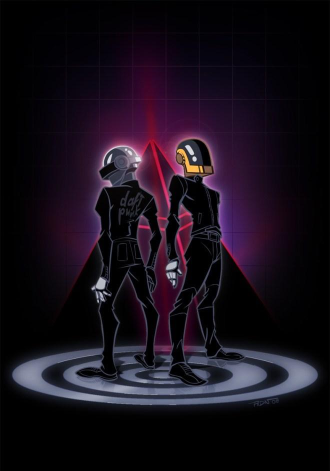 Daft Punk - Human After All - Adrien Noterdaem