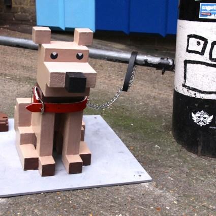 Brick Lane reconvertie en avenue 8 bits
