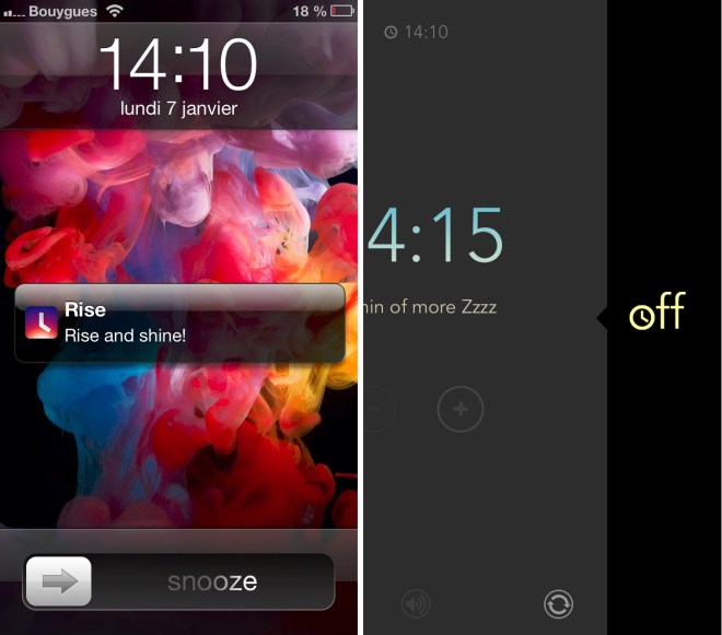iPhone Application Rise 49821698