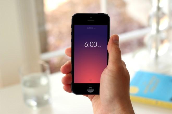 Rise, une application réveil pour iPhone