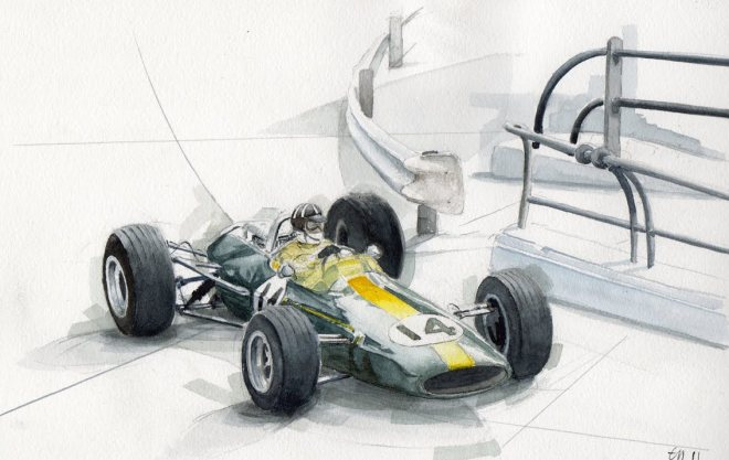 Lotus (Graham Hill -1967)
