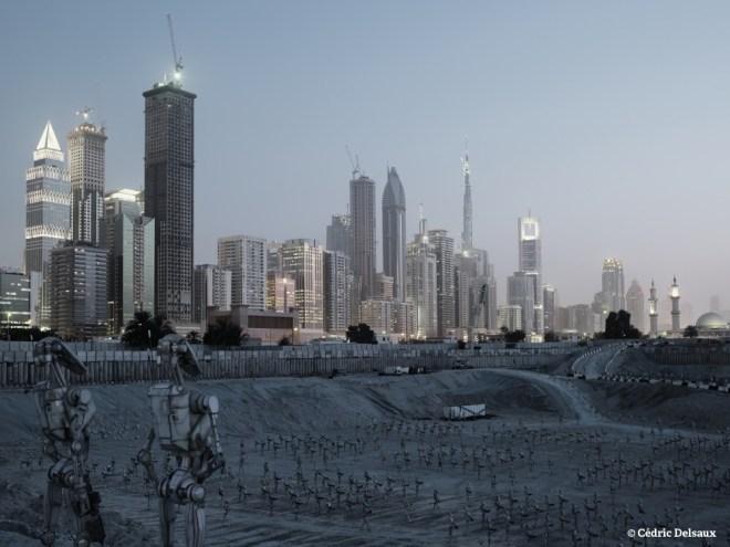 Droid Army, Dubai, 2009 - Dark Lens - Cédric Delsaux