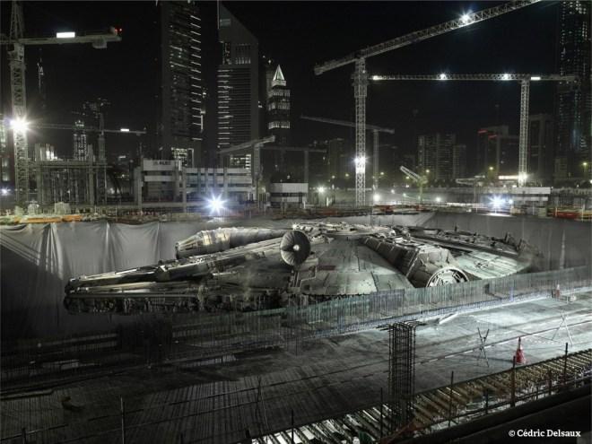 The Falcon's Hiding Place, Dubai, 2009 - Dark Lens - Cédric Delsaux