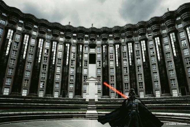 Darth Vader, Paris, 2005 - Dark Lens - Cédric Delsaux