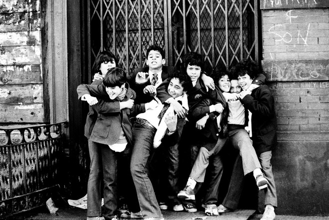 Schoolboys, Chinatown - Leland Bobbé