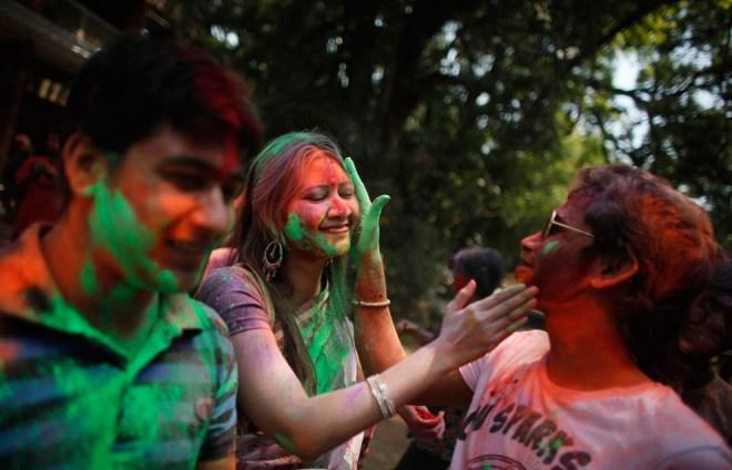 BANGLADESH/ India Holi Festival